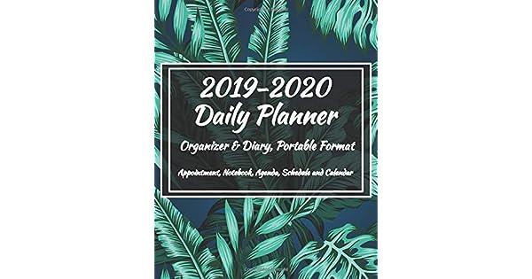 Amazon.com: 2019-2020 Daily Planner - Organizer & Diary ...
