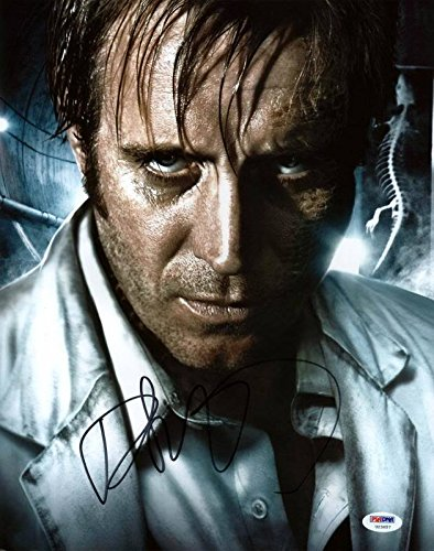 Rhys Ifans Amazing Spiderman Signed Authentic 11X14 Photograph PSA/DNA Authentication