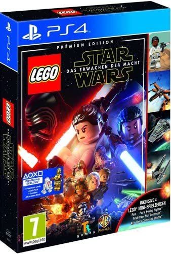 Lego Star Wars 7 PS-4 Premium AT Erwachen der Macht + 4 Lego Figuren [Importación alemana]: Amazon.es: Videojuegos