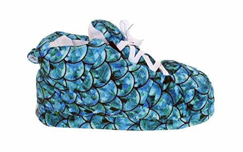 Happy Feet Heren En Dames Standaard Sneaker Slippers Zeemeermin Wintertaling