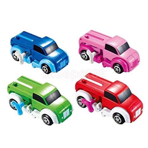 Windup Car/ Dinosaur Transfrom Clockwork Kids Bag Filler Toys Party Favours by uptogethertek