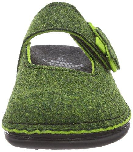 Finn ComfortArlberg - Zuecos Mujer Verde - verde (verde)