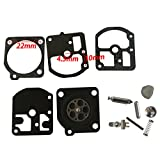 JRL Carburetor Diaphragm Repair Set Fit ZAMA C1S-S1 C1S-Z1 C1S-H4 C1S-H8 Rep RB-7