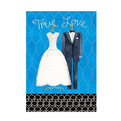 CelebrationValentineS-Day-Flag-True-Love-Wedding-Dresses-And-Suits-Banner-Outdoors-Flags-Of-Double-Sided-Waterproof-And-Fade-Resistant-Printed-banners-125-X-18-Inch-100-Polyester