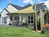 Coarbor Sun Shade Sail Canopy Support Stand Pole