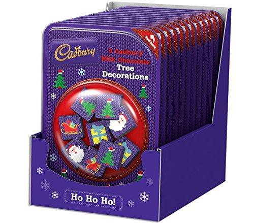 Christmas Tree Chocolates Cadbury - Cadbury Christmas Candy 12x Milk Chocolate Tree Decorations 84g Bulk Buy