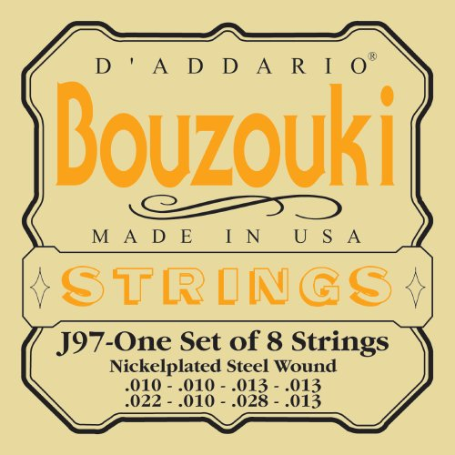 - D'Addario J97 Greek Bouzouki Strings