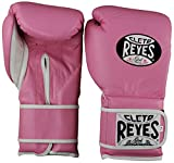 Cleto Reyes Hook & Loop Training Gloves-Pink-14oz.