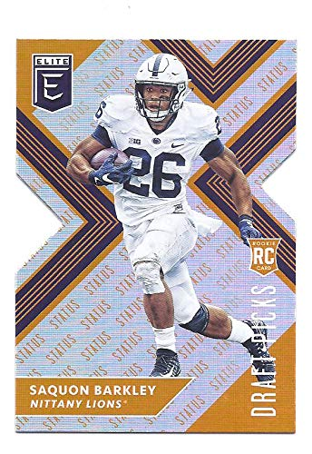 wholesale dealer d9673 87c4a SAQUON BARKLEY 2018 Panini Elite Draft Picks #105 (white ...