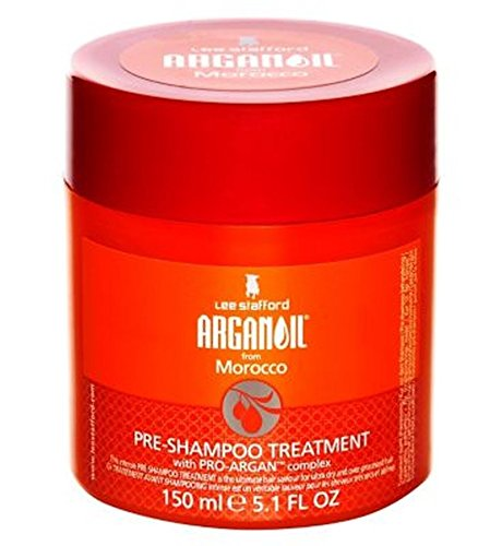 Lee Stafford Arganoil From Morocco Pre Shampoo Treatment 150Ml - Pack of 2 by Lee Stafford