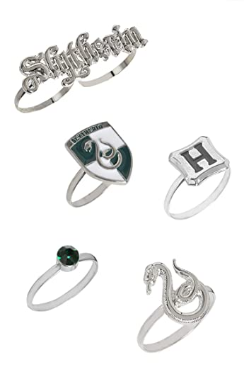 f058e9fad Buy Efgstore.in Harry Potter Slytherin Ring Set Online at Low Prices ...