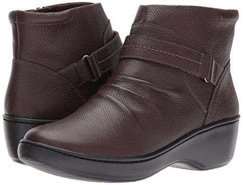 Clarks Stivali Dark Leather Donna Brown rrn1pPxv