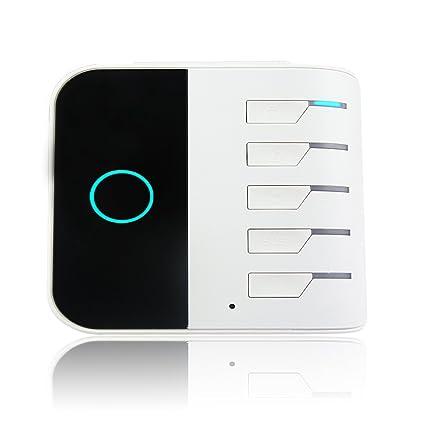 Home sistema de vigilancia de alarma inalámbrico Smart Home Wifi GSM GPRS Match con vigilancia IP