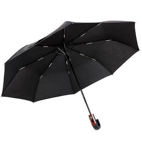 Paraguas hombre negro doppler fiber mini big automático