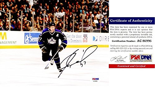 - Jeremy Roenick Autographed Signed Los Angeles Kings 8x10 Photo - 513 Goals - 703 Assists - PSA/DNA Authentic