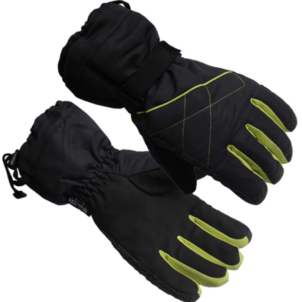 Winter Warm Ski Gloves Mountaineering Cycling Thick Waterproof and Breathable LIUSHUAISHUAI