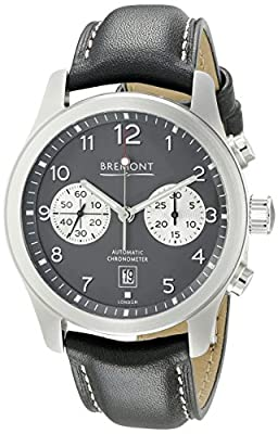 Bremont Men's Alt1-C/AN Analog Display Swiss Automatic Black Watch