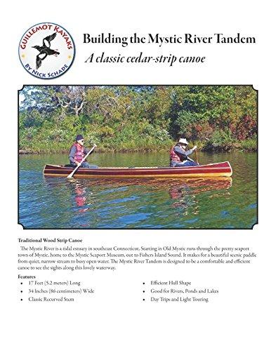 Building the Mystic River Tandem: A Classic Cedar-Strip Canoe (Strip Building Manuals)