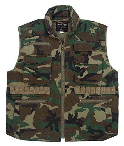 Camo Ranger Vest - Vintage Ranger Vests Camo Versatile Military Tactical Outdoor Vest W/ Hood S-2Xl