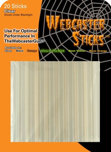 Forum Novelties The Shadows Edge 99001 Webcaster Refill Sticks, 20 Count, Clear -