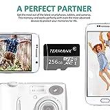 TERMANK 256GB Micro SD Card Memory Card with Free