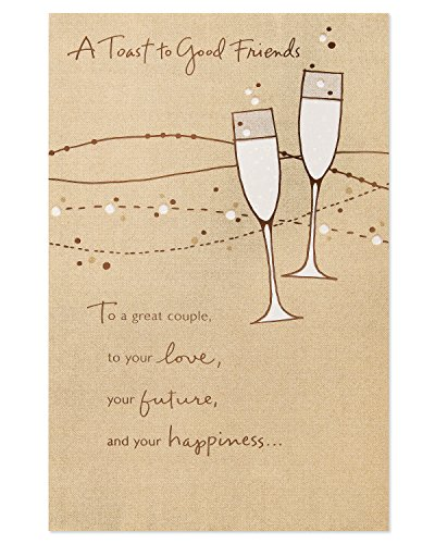 Good Friends Wedding Card with ()