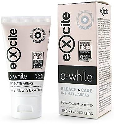 EXCITE O-WHITE Crema blanqueadora corporal piel íntima mujer y ...
