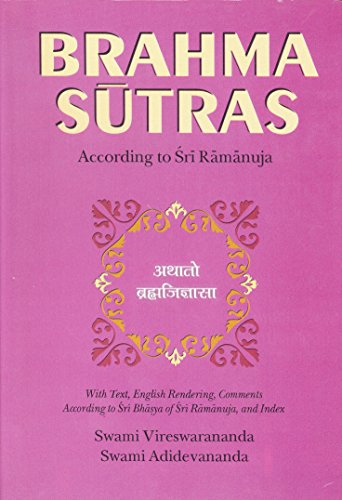 Brahma-Sutras-According-To-Sri-Ramanuja-Book-Jackets-May-Vary