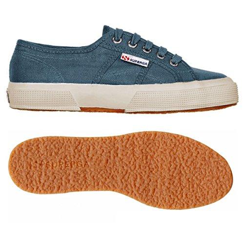 2750 Superga SMOKY Sneaker LINU donna BLUE wZTnUqaTfx