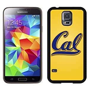 New NCAA Pacific-12 Conference Pac-12 Football California Golden Bears 10 Logo Cell Phone Hardshell Cover Case for Galaxy S5 S 5 SV S V i9600 Black