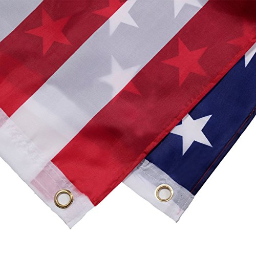 NEW 2' x 3' FT USA US U.S. American Flag Polyester Nylon Stars Brass - Womens Sunglasses Converse