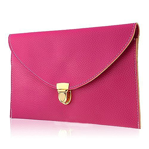 Envelope HandBag Handbag Lady Women Chain Purse R Rose Messenger Shoulder TOOGOO Tote Clutch Orange wHx6Utanq