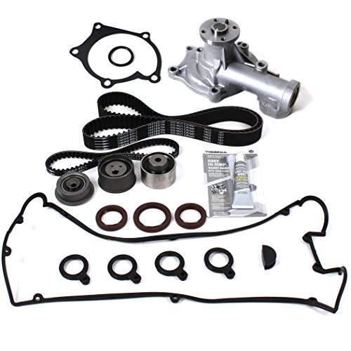 New TSW167VCSI Timing Belt Kit, Water Pump, & Valve Cover Gasket Set for 95-99 Mitsubishi Eclipse & Eagle Talon Turbo 2.0L 4G63T (Mitsubishi Eclipse Turbo Engine)