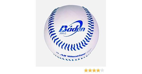 Baden Baseball - Pelota de béisbol (Cuero): Amazon.es: Deportes y ...