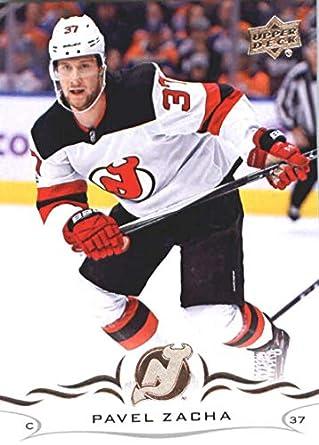 ef40ca329 Amazon.com: Hockey NHL 2018-19 Upper Deck #113 Pavel Zacha NJ Devils ...