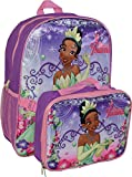 Princess Girl's Tiana 16' Backpack W/ Detachable Lunch Box