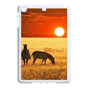 Beautiful grassland Unique Design Cover Case with Hard Shell Protection for Ipad Mini Case lxa#456842