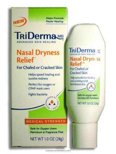 Triderma Nasal Dryness Relief, Triderma Nasal Dryness Reli-Sp, (1 CASE, 24 EACH)