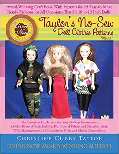 Taylors No Sew Doll Clothes Patterns Volume 1 Christine Curry