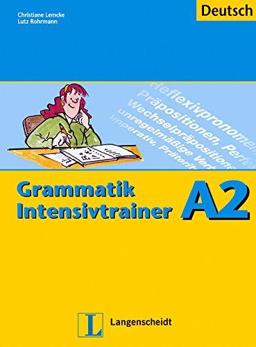 Grammatik Intensivtrainer A2 Deutsch - Langenscheidt