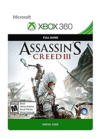 Assassin's Creed III - Xbox 360 [Digital Code]