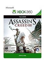 Assassin's Creed III - Xbox 360 [Digital Code]