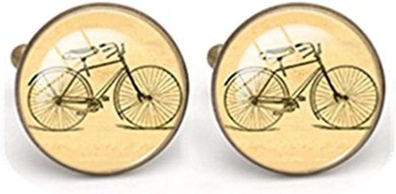 Gemelos para Bicicleta novio Gemelos Padre Gemelos Regalo para él Boda Novios Regalo: Amazon.es: Joyería