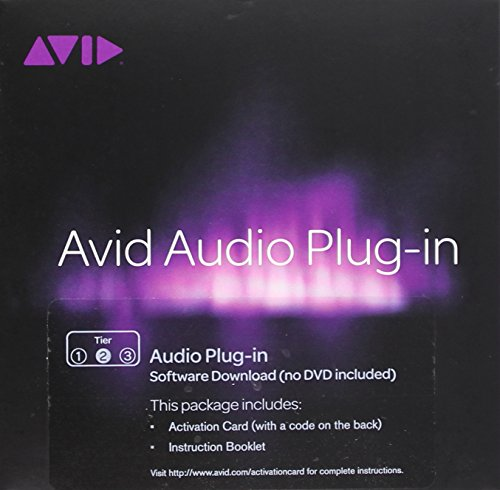 Pro Tools Tier 2 Audio Plug-In for PC and Mac Activation Card Windows|Mac 99006543800