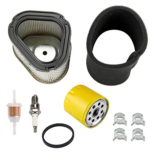 Harbot LT1040 Air Filter with Oil Filter Tune Up Kit for Cub Cadet 1515 1517 4814R 4815F LT1018 Lawn Mower Tractor ()