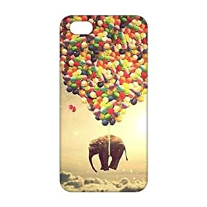 Elephant Balloons 3D Phone Case for iPhone 5s