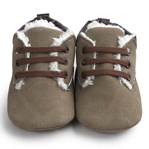 Amlaiworld Baby Schuhe Grau