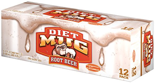 Diet Mug Root Beer, 12 ct, 12 oz Cans (Diet Mug)