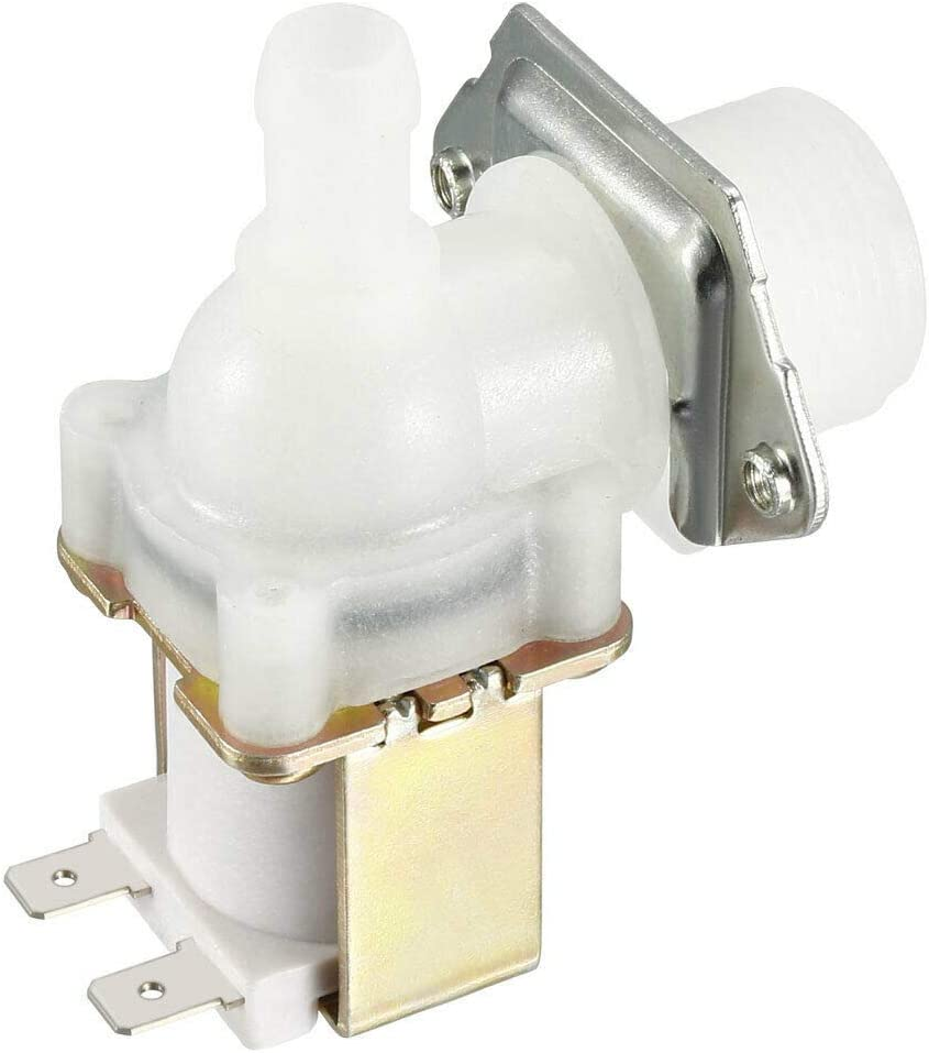 Sensors G3//4 Water Solenoid Valve DC 12V Normally Open 20mm Thread Inlet with Filter