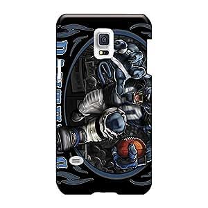Protective Hard Phone Case For Samsung Galaxy S5 Mini With Provide Private Custom Lifelike Carolina Panthers Skin EricHowe